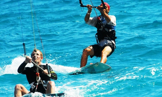 Enjoy Kiteboarding Lessons In Limasol, Cyprus