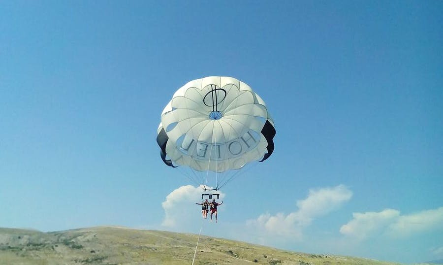 Enjoy Double Parasailing in Baška, Croatia