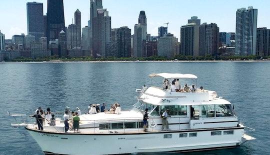 Chicago Private Yacht Rentals @ Burnham Harbor