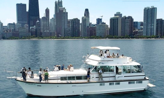 Adeline's Sea Moose : Chicago Private Yacht Rentals @ Burnham Harbor