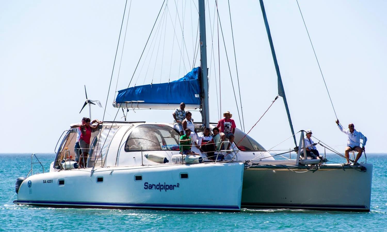 Charter Sandpiper Cruising Catamaran in Velddrif, South Africa