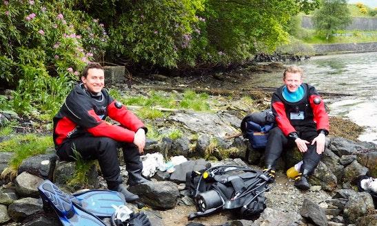 Padi Scuba Diving Courses In Glasgow, Scotland