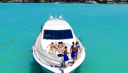 Luxury Yacht Party Rental - 75' Lazzara - Miami, Florida Keys & Bahamas