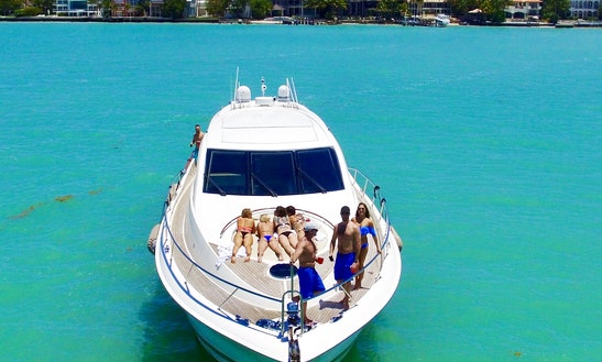 Yacht Party Rental - 75' Lazzara!