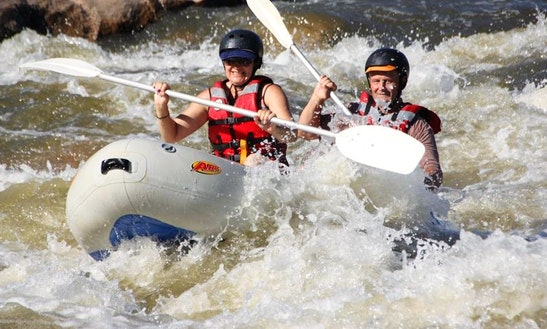 Enjoy Mini Rafting In Parys, South Africa