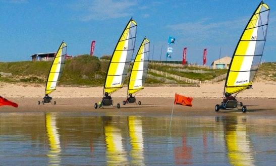 Enjoy Blokart Sailing In Saint-denis-d'oléron, Nouvelle-aquitaine