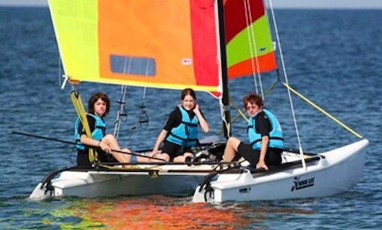 Rent Hobie Cat Beach Catamaran In Saint-denis-d'oléron, Nouvelle-aquitaine