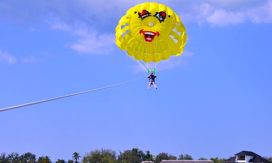 Enjoy Single Parasailing In Kendwa, Tanzania