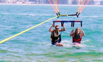 Enjoy Double Parasail Ride in Pile, Larnaka