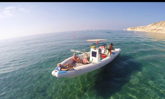 Rent A Rigid Inflatable Boat In Limassol, Cyprus