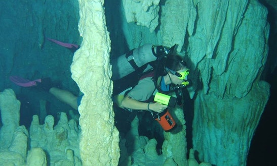 Enjoy Diving And Caving