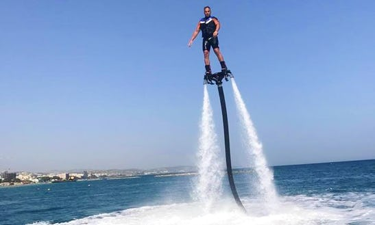 Have A Thrilling Flyboarding Experience In Limassol, Cyprus