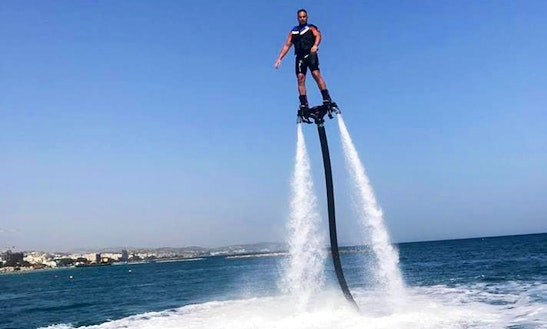 Enjoy Flyboarding In Limassol, Cyprus