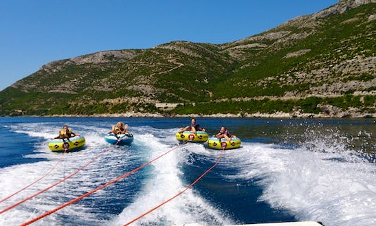 Enjoy Bumber Tube Rides In Majkovi, Croatia