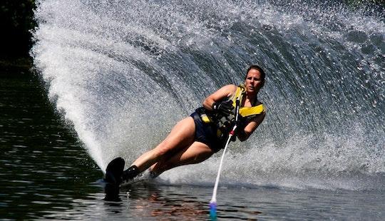 Enjoy Water Skiing In Majkovi, Croatia