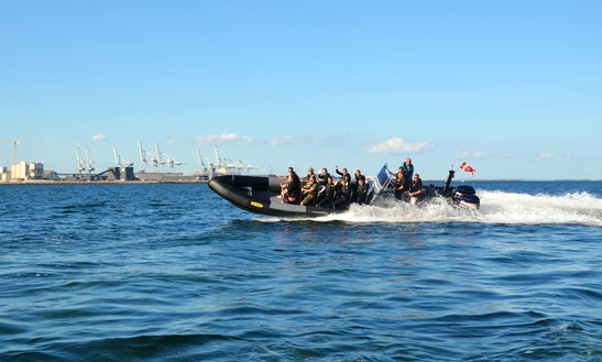 Charter 36' Humber Rigid Inflatable Boat In Solbjerg, Denmark