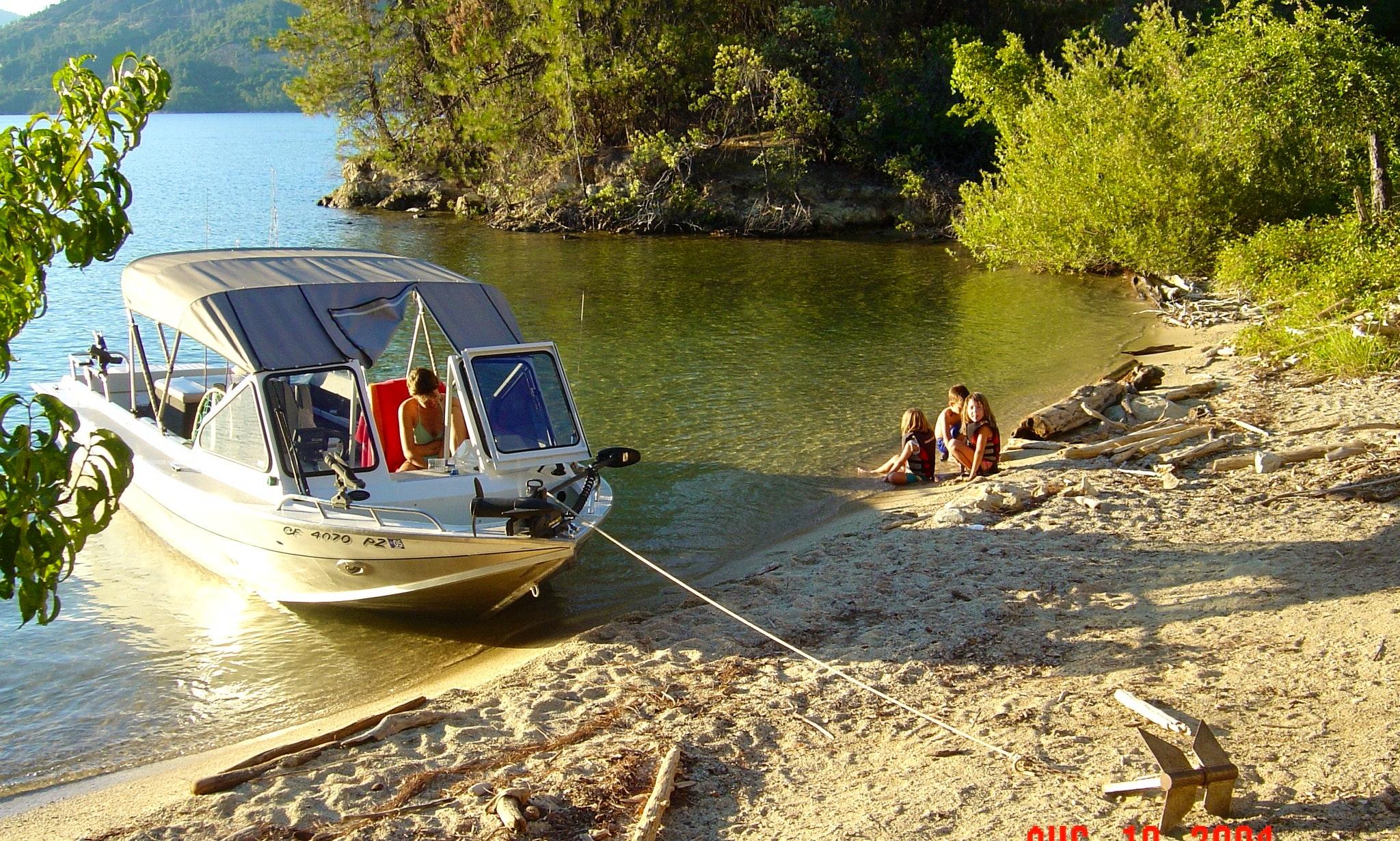 21 ft Ski / Fish Aluminum Jet Boat North River Commander