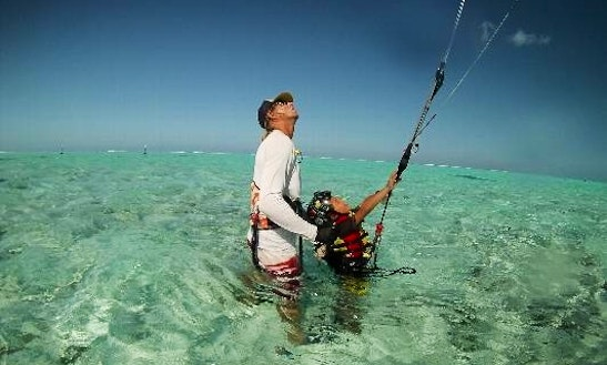 Kiteboarding Lesson And Rental In Vaitape, French Polynesia