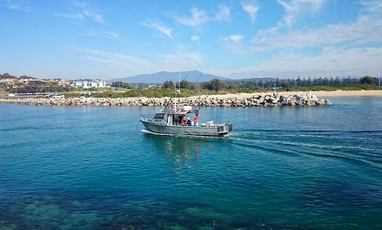 40' Fishing Charter In Narooma