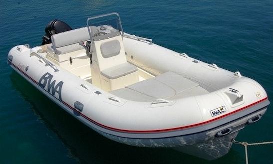 Rent 18' Bwa Rigid Inflatable Boat In Portoscuso, Sardegna