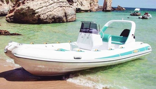 Rent 21' Stingher Rigid Inflatable Boat In Omiš, Croatia