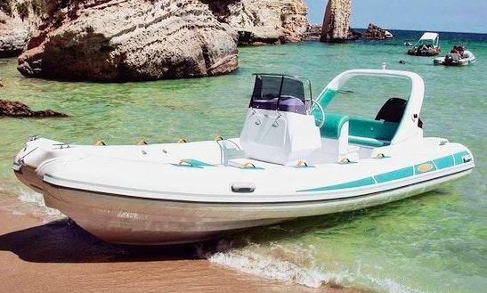 Rent 21' Stingher Rigid Inflatable Boat In Omiš, Croatia