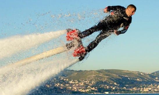 Enjoy Flyboarding In Ramatuelle, France