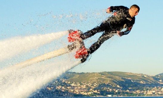 Enjoy Flyboarding In Ramatuelle, France