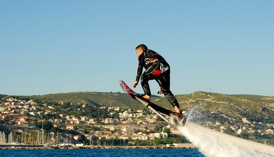 Enjoy Hoverboarding In Ramatuelle, France