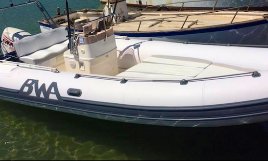 21' Bwa California Rib Rental In Ognina, Italy