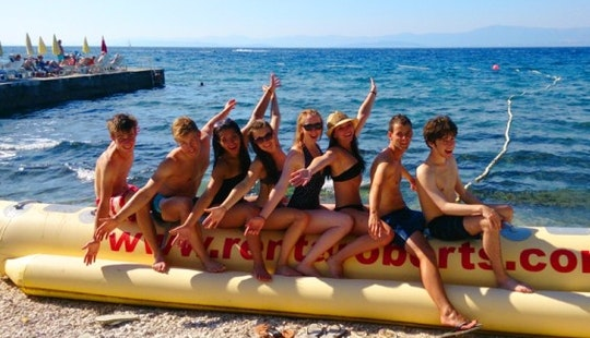 Blast On A Wild Banana Boat Ride In Brac, Croatia