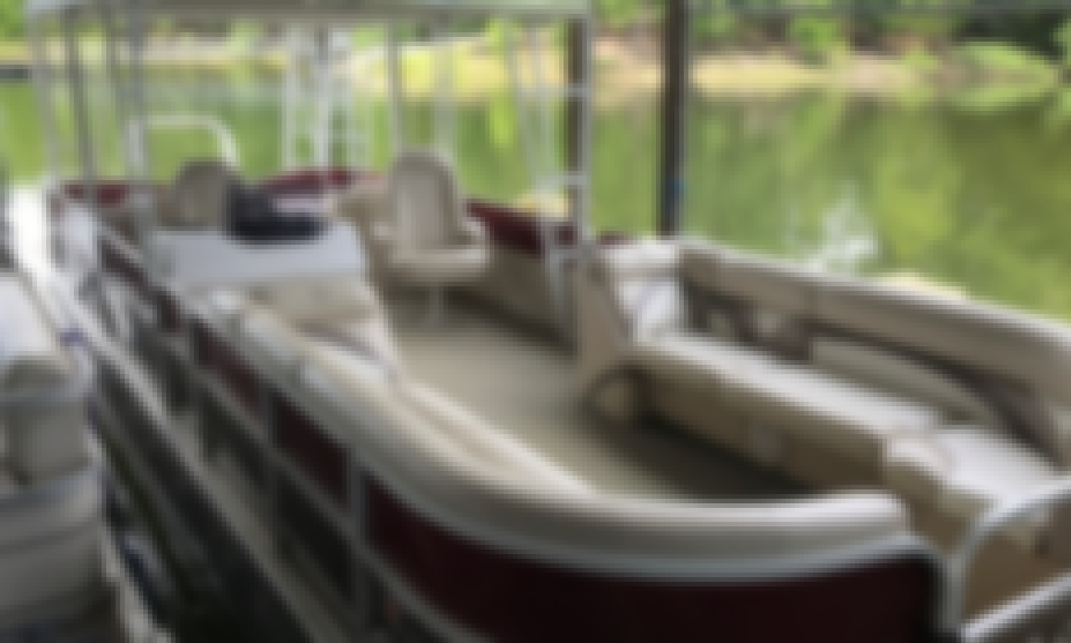 Party Barge Rental in Mount Ida, Arkansas