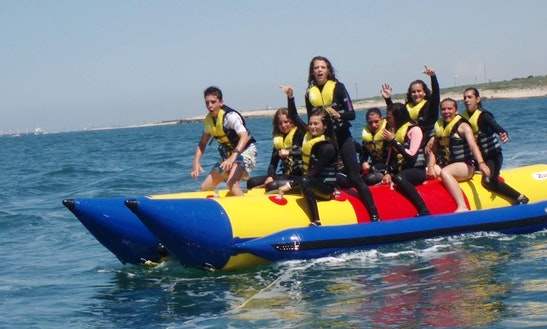Enjoy Banana Rides In Martigues, France