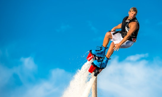Enjoy Flyboarding In Martigues, France