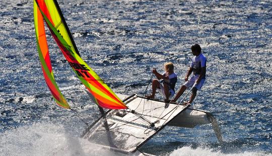 Rent Hobie Cat Beach Catamaran In Porto-vecchio, Corse