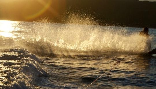 Enjoy Waterskiing In Porto-vecchio, Corse