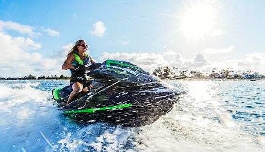 Rent 15' Kawasaki Jet Ski In Exmouth, Western Australia