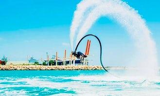 Enjoy Flyboarding in Exmouth, Western Australia