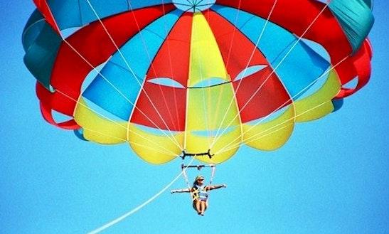 Enjoy Parasailing In Villeneuve-loubet, France