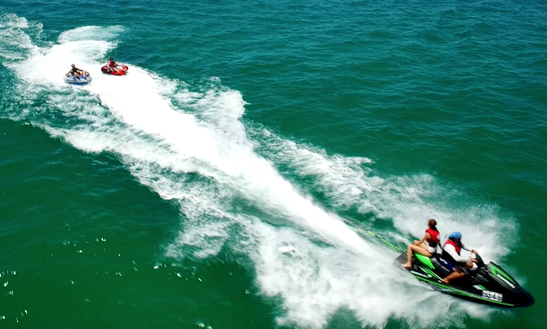 Enjoy Solo Tube Rides In Exmouth, Western Australia