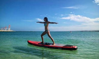 Enjoy Stand Up Paddleboarding in Exmouth, Westeren Australia