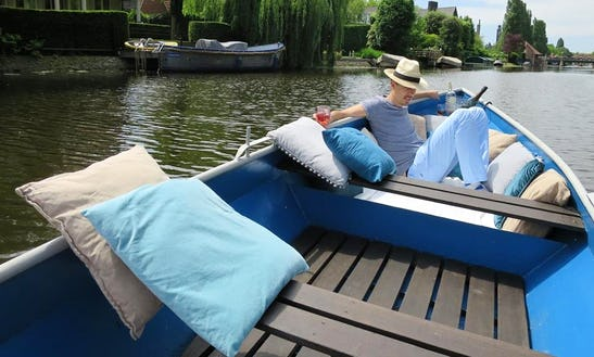 Rent A 6 Person Dinghy In Amsterdam, Netherlands