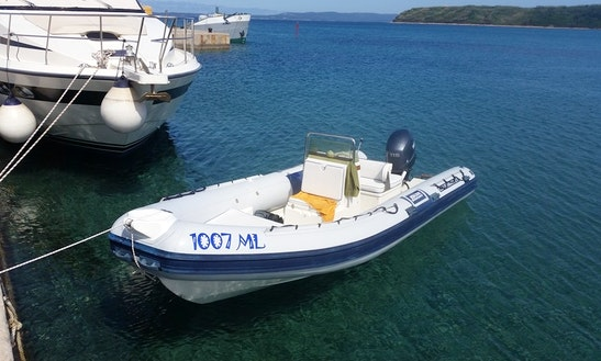 Rent 21' Joker Clubman Rigid Inflatable Boat In Mali Lošinj, Croatia