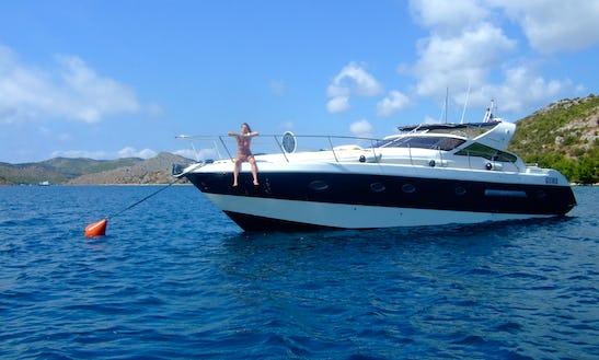 Charter 48' Giorgi Open Motor Yacht In Vibo, Italy
