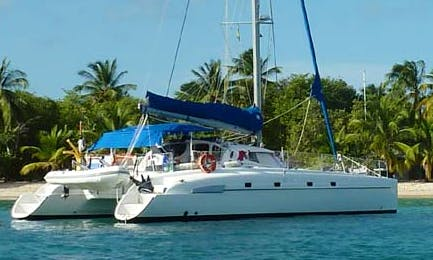 Sailing Charter 46' Bahia Cruising Catamaran In Fakarava, French Polynesia