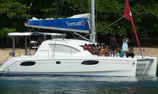 Sailing Charter 46' Bahia Cruising Catamaran In Fakarava, French Polynesia
