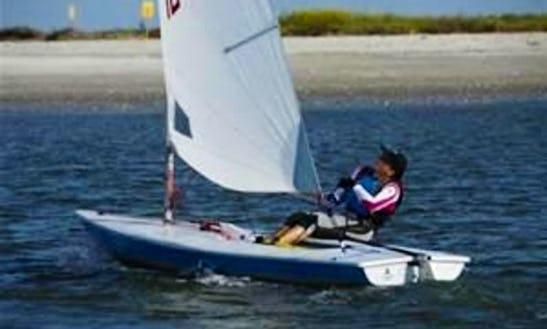 Rent Laser Sailing Dinghy In Porto-vecchio, Corse