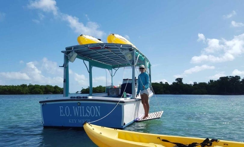 "Exciting Eco Tour on ""E.O. Wilson"" Boat in Key West with Captain Billy"