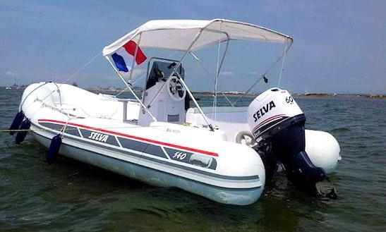 Rent 18' Semi Rigid 540 Rigid Inflatable Boat In Palavas-les-flots, France