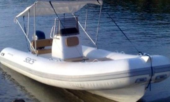 Rent Sacs 540 Rigid Inflatable Boat In Cagliari, Italy